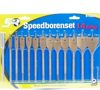 Speedborenset 14-delig hout